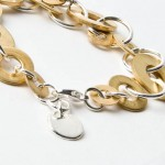 Photo of brass ring bracelet