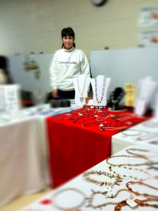 Photo of Marie Gilvey at Fox Mill craft show